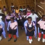 Pupils of King Jesus Junior school 2012
